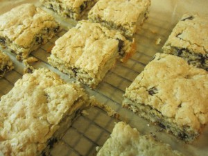 Blondies (Brownies Blancos)