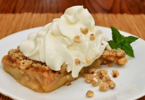 Apple Crisp Receta