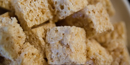 receta de rice crispy treats