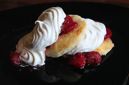 receta strawberry shortcake